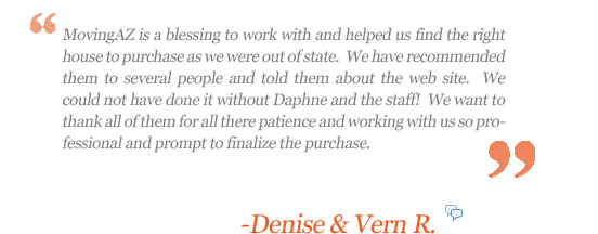 Moving AZ Client: Denise and Vern